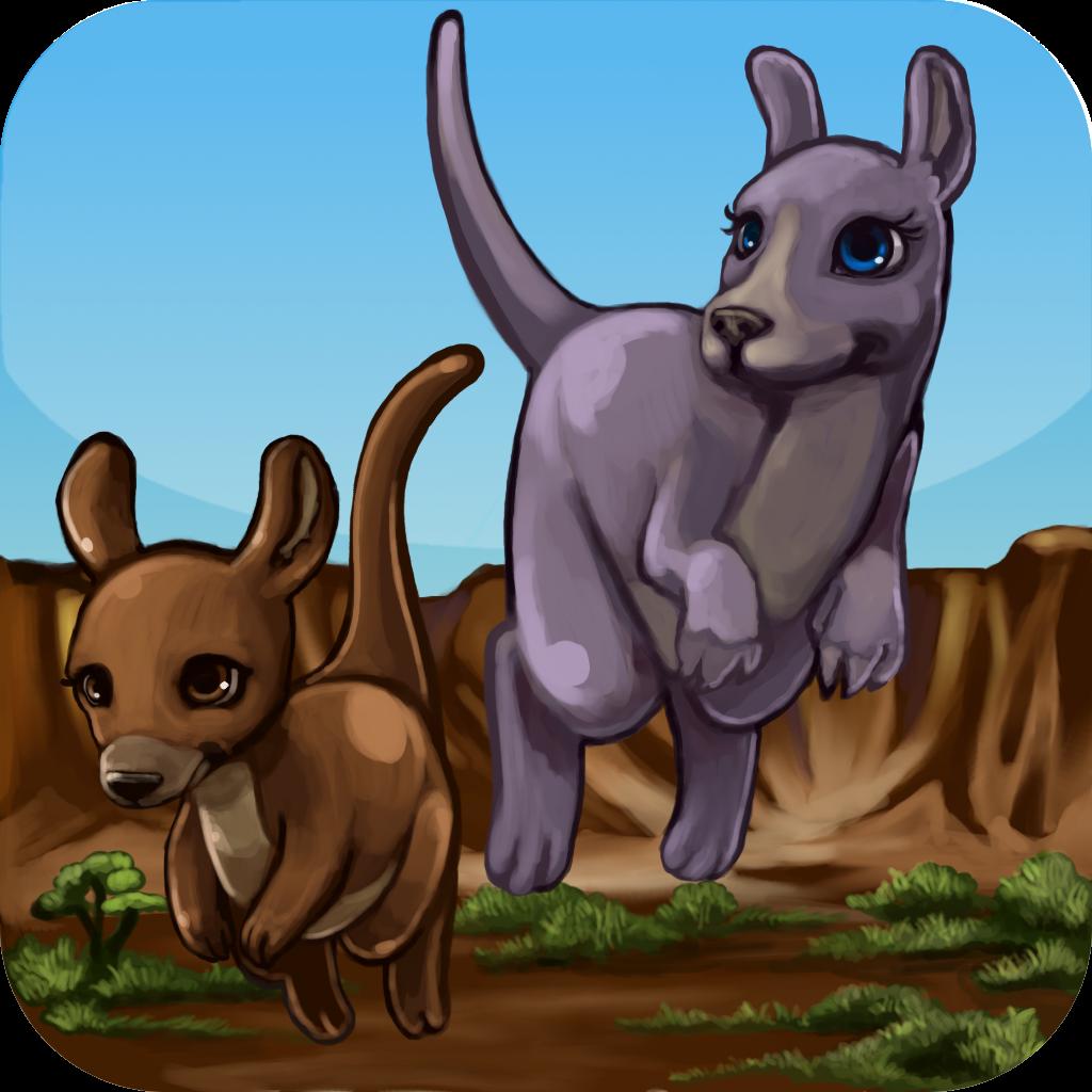 Cute Kangaroo Jump FREE